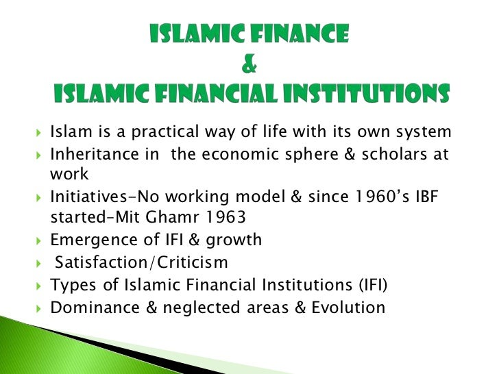 islamic microfinance thesis A thesis submitted in fulfilment of the requirements for the degree of doctor of   as in most contexts of islamic banking, inadequate accounting practices are.
