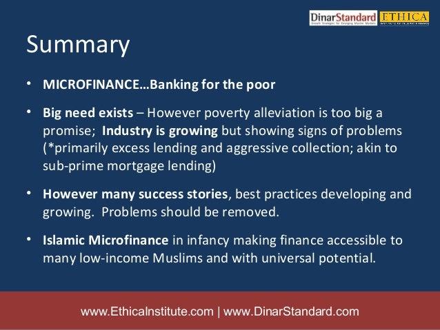 literature review on islamic microfinance Literature review on microfinancesubmitted by b it explains the key role of islamic microfinance documents similar to literature review on microfinance.