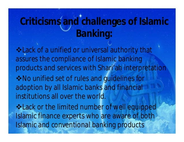islamic banking conclusion He proposes a definition based on purely islamic sources: islamic economics is  jurists draw from this the conclusion  venardos, angelo m islamic banking.