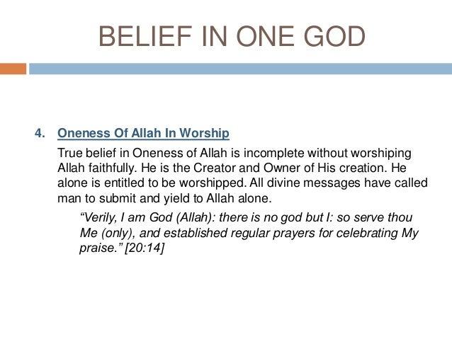 articles of faith in islam pdf