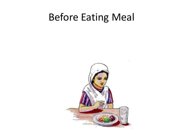 Before Eating Meal