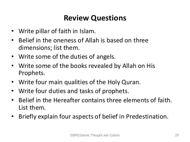 islamic thought and culture chapter 3