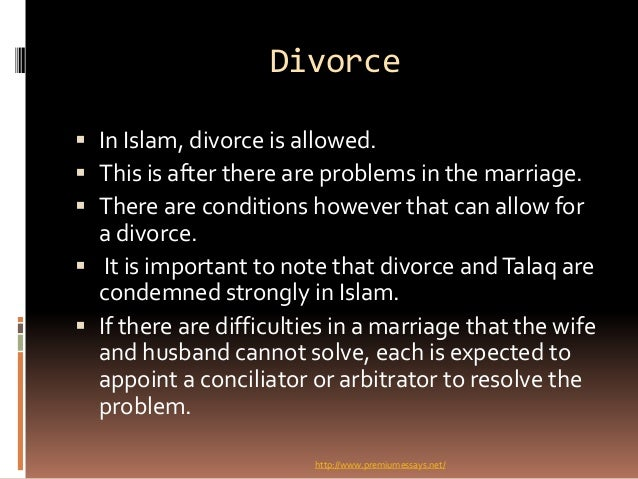 islamic views on marriage and divorce. Black Bedroom Furniture Sets. Home Design Ideas
