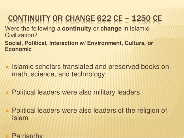 continuity book army template - islam islamic empire review