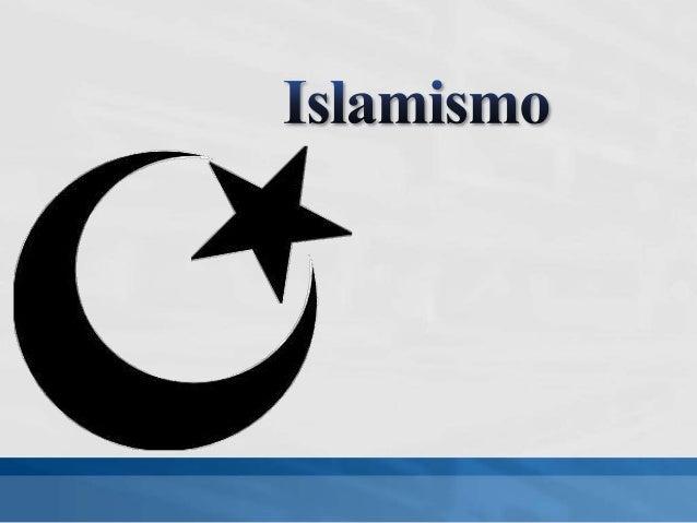 Religiãoabraâmica monoteístaarticulada pelo Corão;Deus – Allah;Maomé, consideradopelos fiéis como oúltimo profeta deDeus;U...