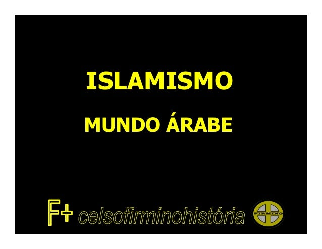 ISLAMISMOMUNDO ÁRABE