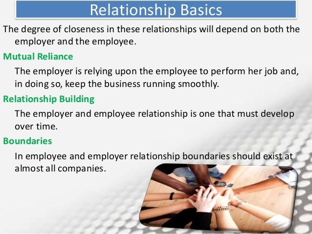 relationship with employee and employer