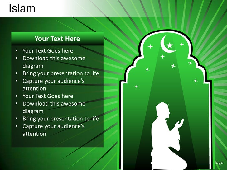 Islamic powerpoint templates islamic backgrounds image for Powerpoint sitemap template