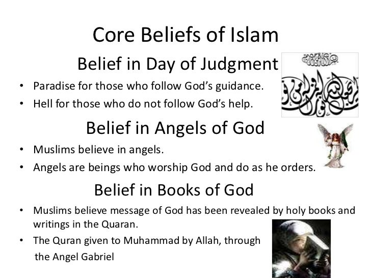 fundamental beliefs in islam belief in The six pillars of faith and other islamic beliefs belief in life after death belief in life after death  is one of the six fundamental beliefs required of a .