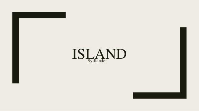 ISLANDSydlandet