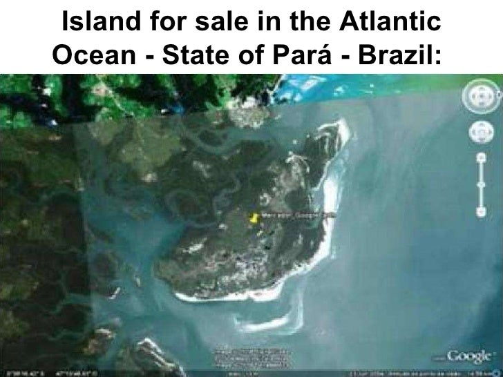 Island for sale in the Atlantic Ocean - State of Pará - Brazil: