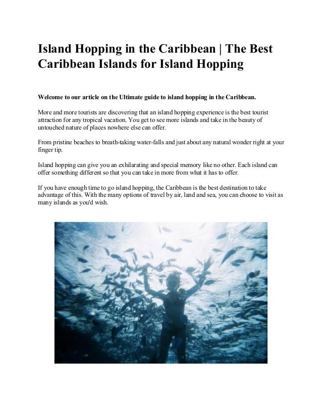 Island Hopping in the Caribbean | The Best Caribbean Islands for Island Hopping Welcome to our ...
