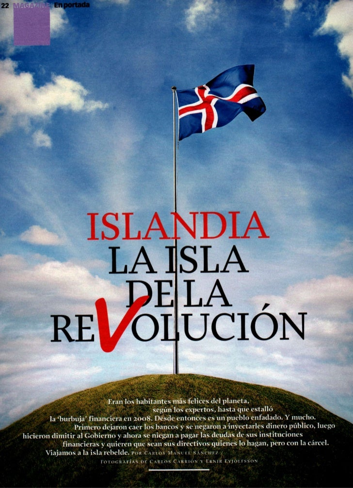 Islandia la isla de la revolución