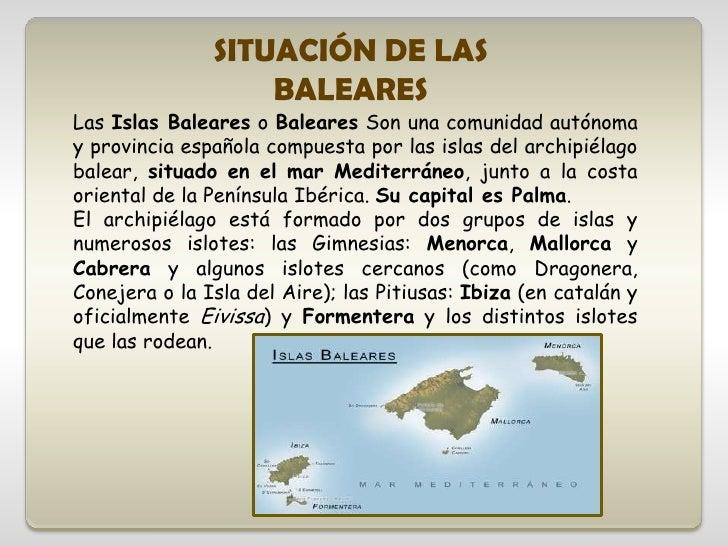 Islas baleares - Islas de baleares ...