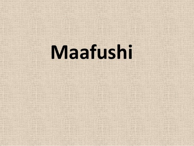 Maafushi