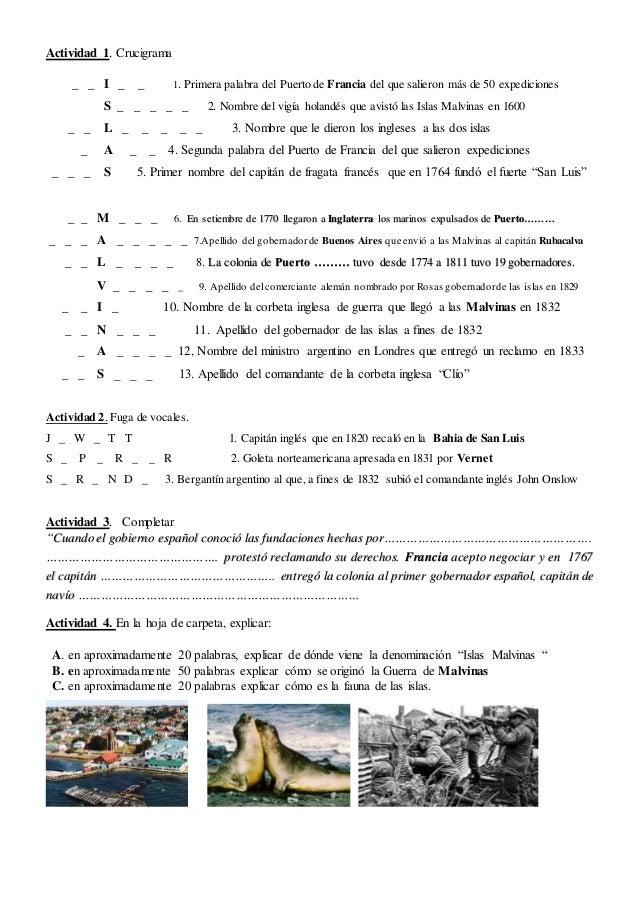 Actividad 1. Crucigrama _ _ I _ _ 1. Primera palabra del Puerto de Francia del que salieron más de 50 expediciones S _ _ _...