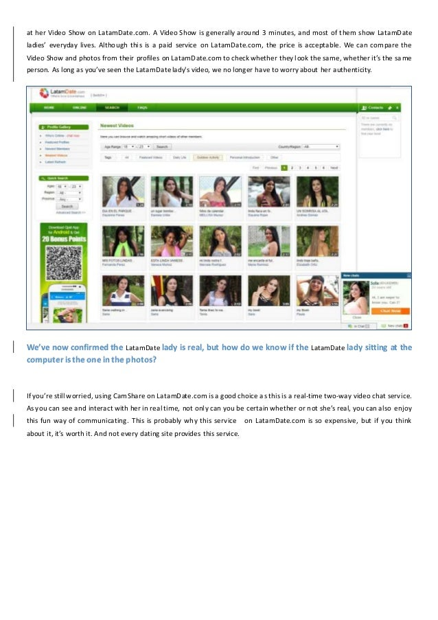 Is LatamDate.com a Scam or a Legit Way to Meet Latin American Women? Slide 3