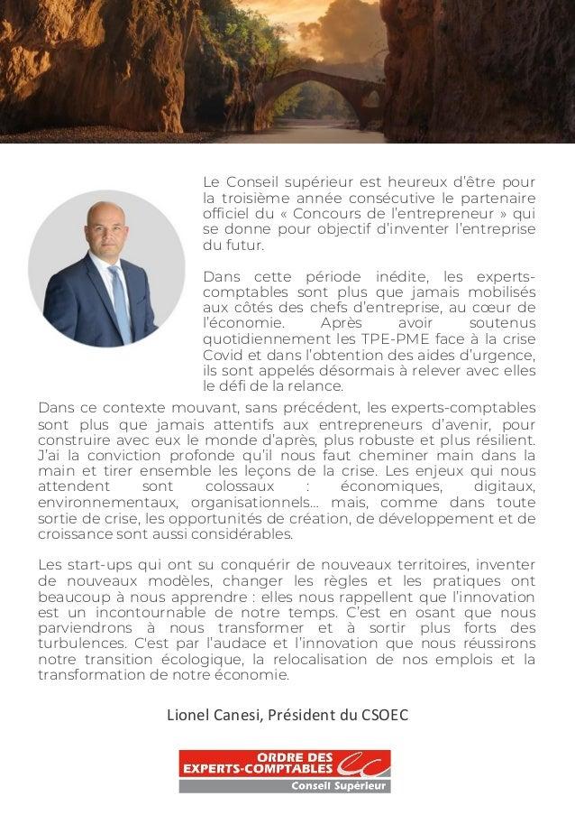 ISLEAN - Cahier des entrepreneurs 2021 Slide 3