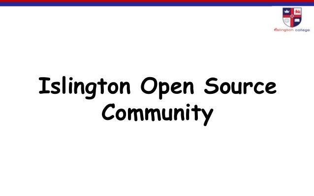 Islington Open SourceCommunity