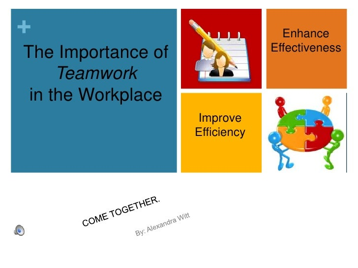 teamwork examples in the workplace