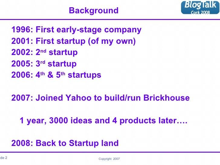 Ismail Blogtalk 2008 Slide 2