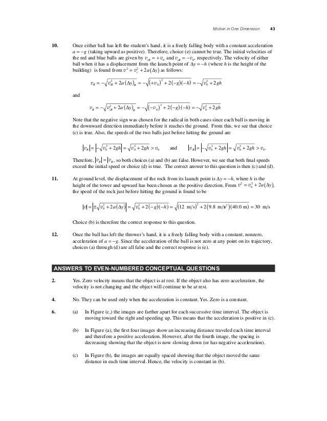 Solucionario Fundamentos De Fisica 9na Edicion Capitulo 2