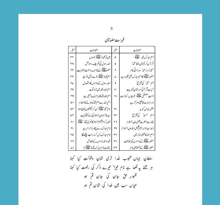 Ism e muhammad Slide 3