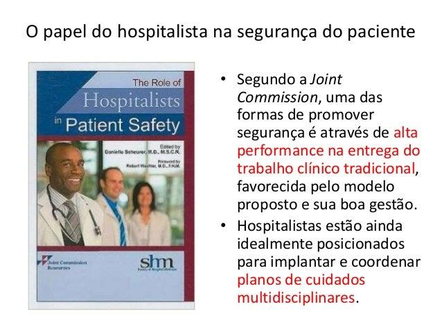 Hospitalistas, resultados críticos e avaliação em tempo ótimo