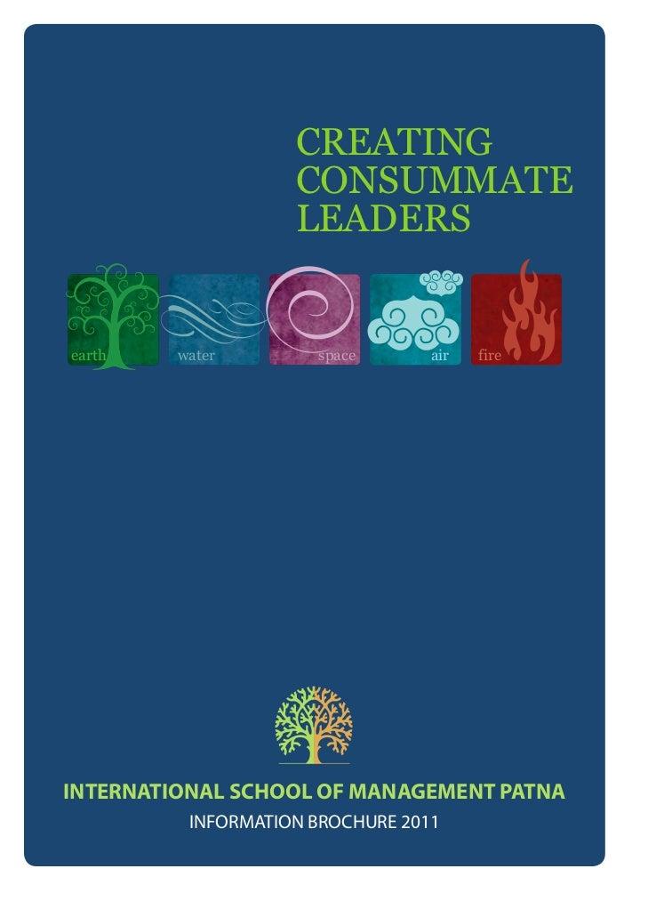 CREATING                    CONSUMMATE                    LEADERSearth    water        space       air   fireINTERNATIONAL...