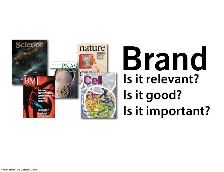 Brand                              Is it relevant?                              Is it good?                              I...