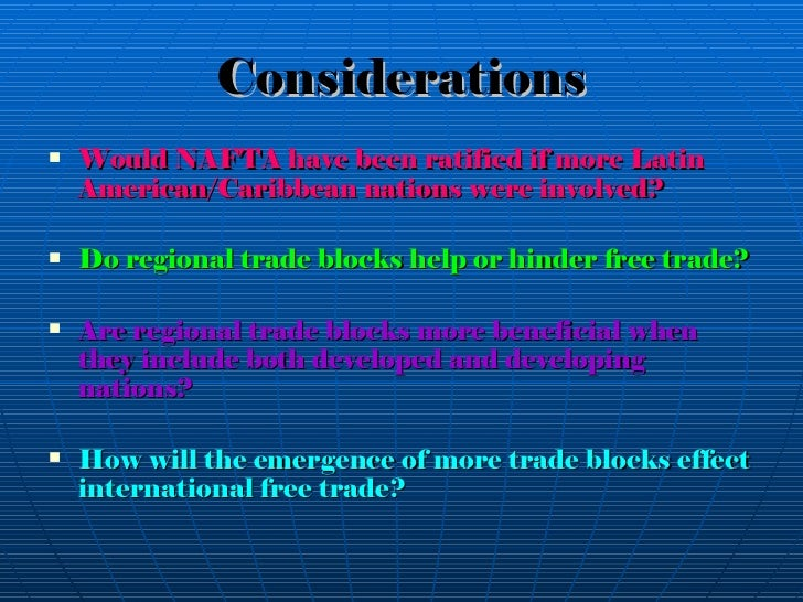 do regional trade agreements help or hinder multilateral liberalisation Regional trade agreement vs multilateral trading system 7 as a result, on the one hand, there is the undeniable fact that rapid de-velopment in regional trade cooperation has at least partly undermined.