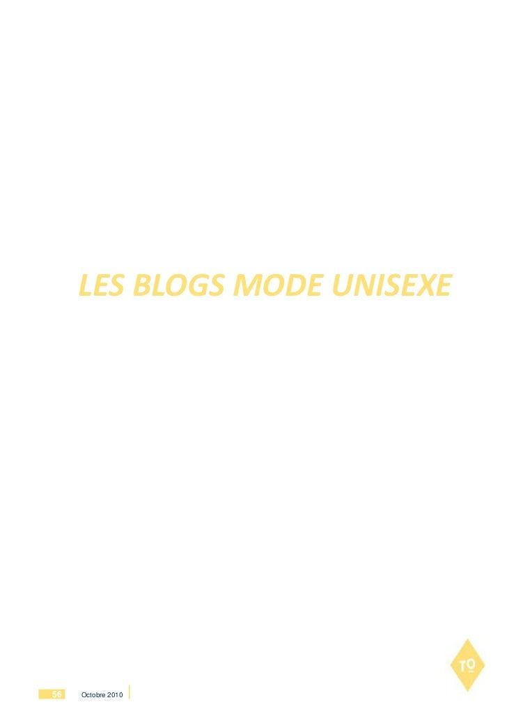 LES BLOGS MODE UNISEXE56   Octobre 2010