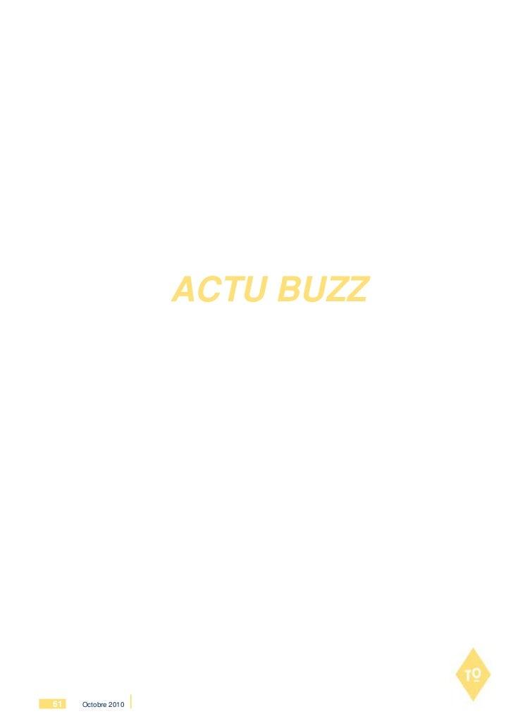 ACTU BUZZ61   Octobre 2010
