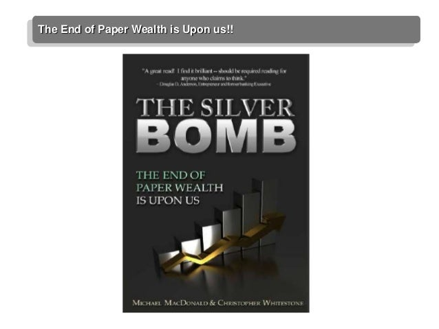 The End of Paper Wealth is Upon us!!