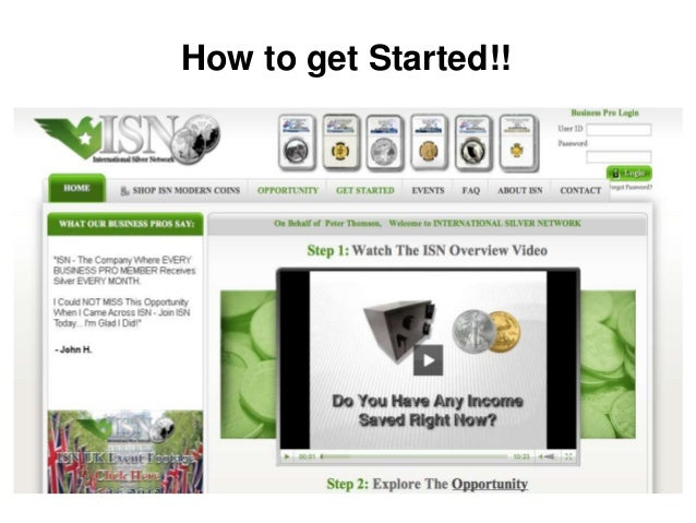 How to get Started!!