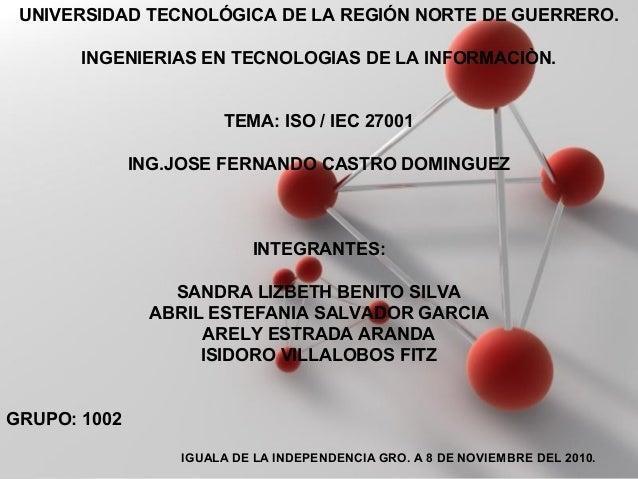 Powerpoint Templates Page 1 Powerpoint Templates UNIVERSIDAD TECNOLÓGICA DE LA REGIÓN NORTE DE GUERRERO. INGENIERIAS EN TE...