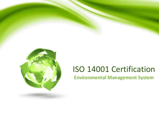 ISO 14001 Certification Dubai
