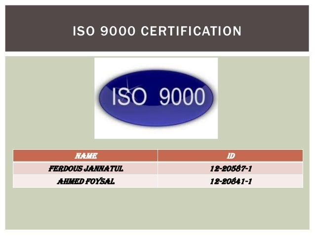 Iso 9000 Slide 2