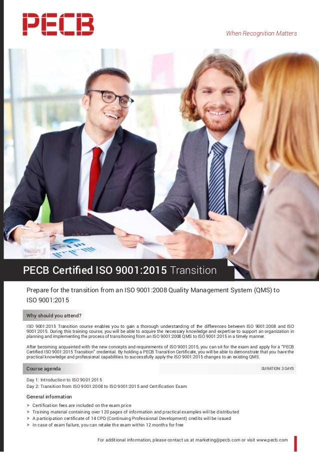 When Recognition Matters For additional information, please contact us at marketing@pecb.com or visit www.pecb.com PECB Ce...