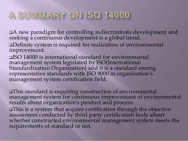 Iso 9000 case studies