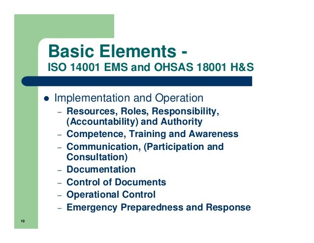 OHSAS OH&S Standard in Plain English