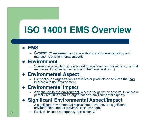 environmental aspects register template - iso 14001 ems ohsas18001