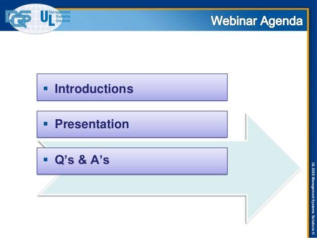 ISO 14001:2015 Revision Update Webinar Slide 2