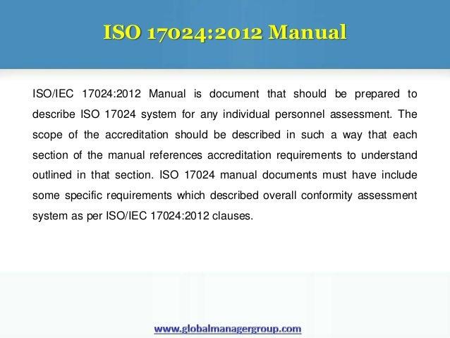 overview on iso 17024 2012 documentation rh slideshare net ANSI ISO 17024 Training ISO SOP Template