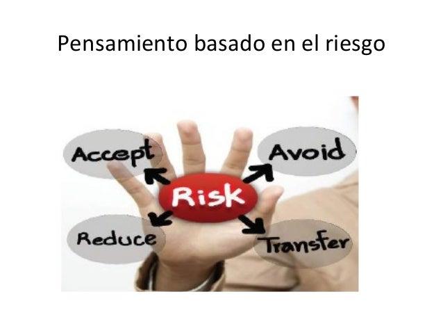 Pensamiento basado en el riesgo