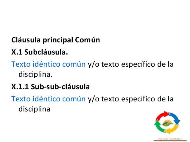 Estructura ISO 9001 2015