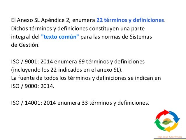 Estructura ISO 14001 2015