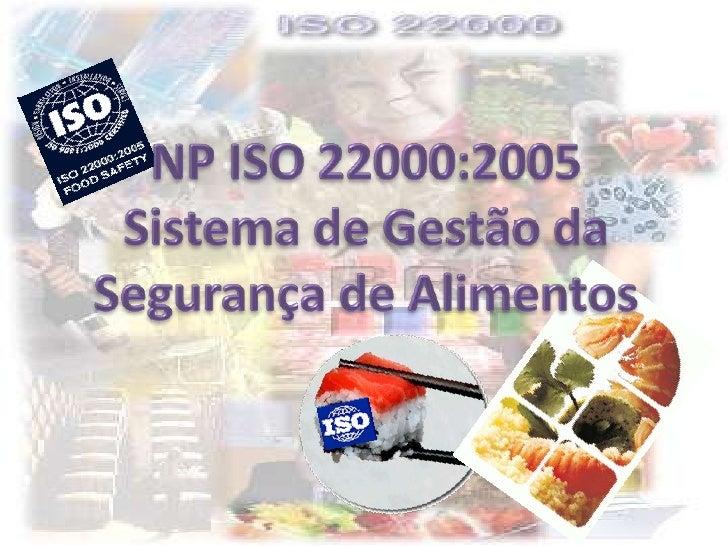 O objectivo desta Norma é harmonizar, a nível global, os requisitos para gestão da segurança alimentar pelos operadores da...
