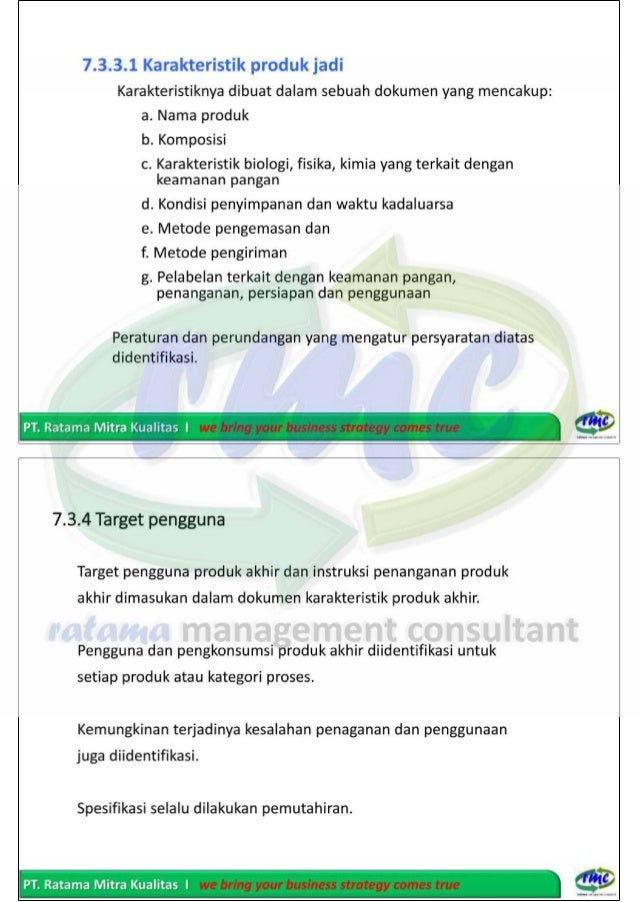 ISO 22000:2005 - Food Safety Management System