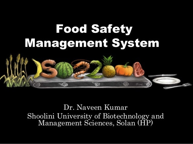 iso 22000 food safety management system rh slideshare net Safety Comes First Food Sign McDonald's McDonald's Food Safety Certificate